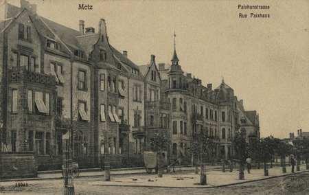 Metz. Paixhans-Strasse. Rue Paixhans