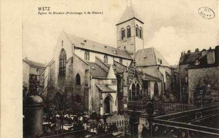 Metz. Église St. Eucaire (pélerinage d. St. Blaise)