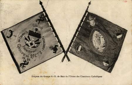 Drapeau du Groupe N.-D. de l'Union des Cheminots Catholiques
