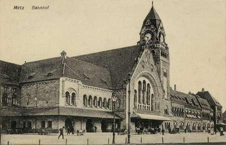 Metz. Bahnhof