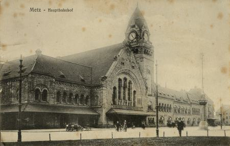 Metz. Hauptbahnhof