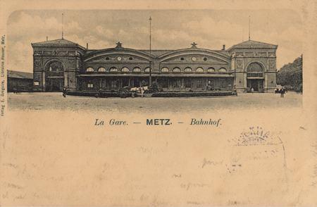 La Gare. Metz. Bahnhof
