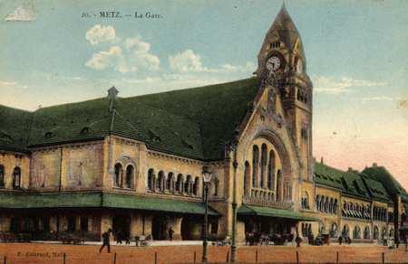 Metz. La Gare