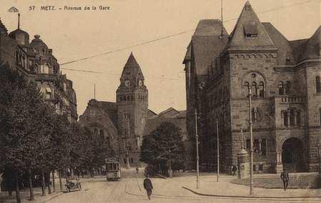 Metz. Avenue de la Gare