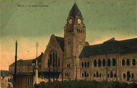 Metz - La Gare centrale