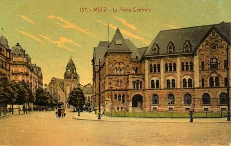 Metz. La Gare centrale