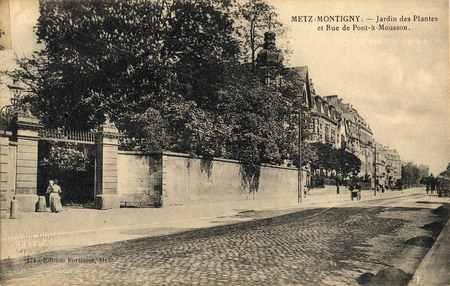 Metz-Montigny. Jardin des Plantes et Rue de Pont-à-Mousson