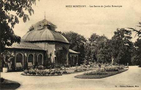 Metz-Montigny. Les Serres du jardin Botanique