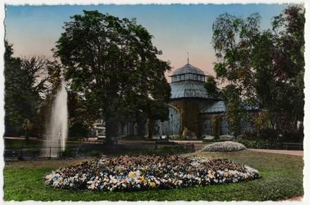 Metz ( Moselle). Le jardin botanique