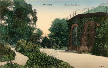 Montigny. Botanischer Garten