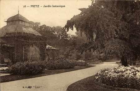 Metz. Jardin botanique