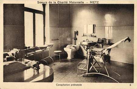 Sœurs de la Charité maternelle - Metz - Consultation prénatale