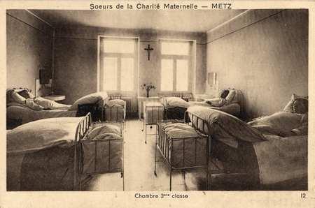 Sœurs de la Charité maternelle - Metz - Chambre 3 ème classe