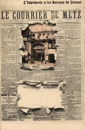 Le Courrier de Metz - Metz Buchdruckerei