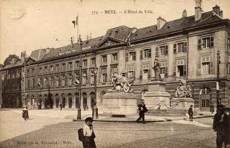 Metz. L'Hôtel de Ville