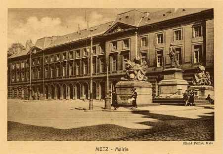 Metz. Mairie