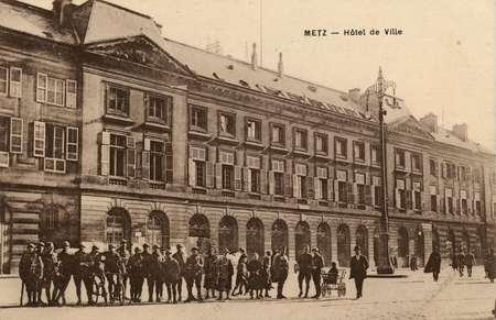 Metz. Hotel de Ville