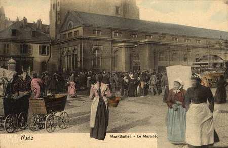 Metz - Markthalien - Le Marché