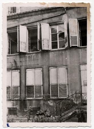 [Détails fenêtres - Hôtel de Gournay]