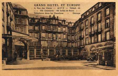 Grand Hôtel et Europe