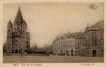 Metz - Place de la Comédie.
