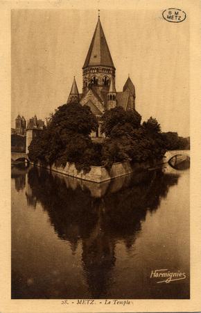 Metz. - Le Temple.