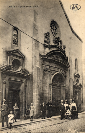 Metz - Eglise St-Maximin.