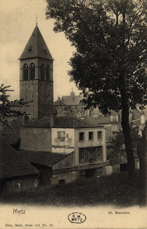 Metz - St. Maximin.