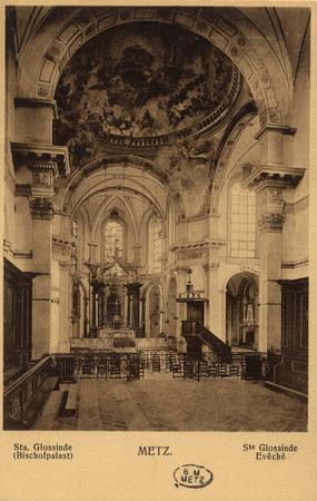 Sta. Glossinde (Bischofpalast) - Metz.