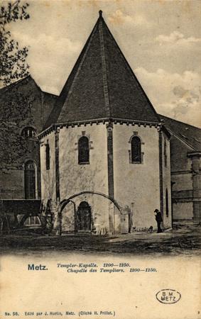 Metz. Templer-Kapelle. 1200-1250.