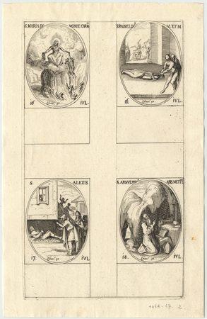 Les images des saints: Soixantième planche. Juillet