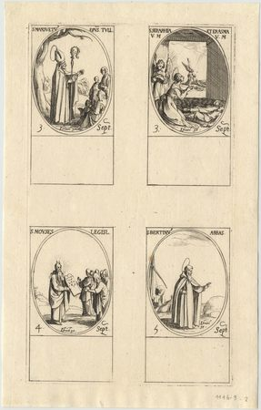 Les images des saints: Soixante-dix-huitième planche. Septembre