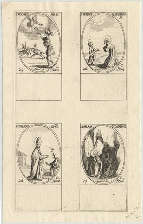 Les images des saints: Cent-septième planche. Novembre