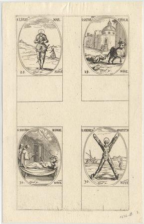 Les images des saints: Cent-huitième planche. Novembre