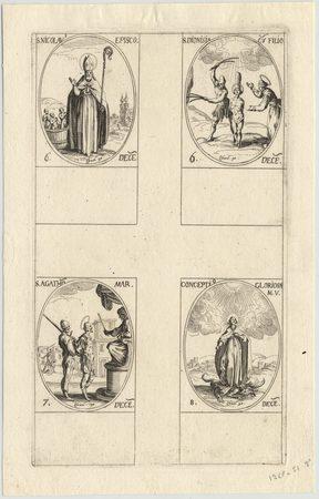 Les images des saints: Cent-onzième planche. Décembre