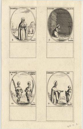 Les images des saints: Cent-douzième planche. Décembre