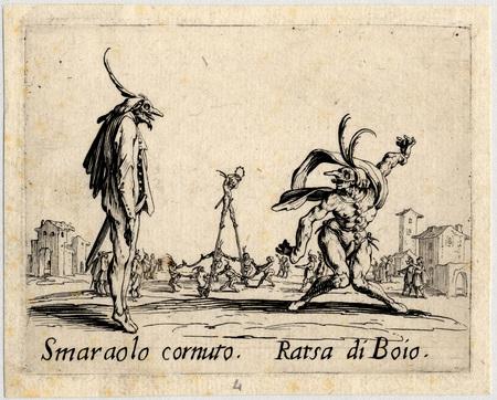 Balli di Sfessania : Smaraolo Cornutto, Ratsa di Boio