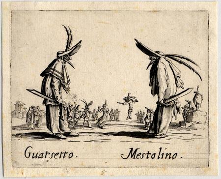 Balli di Sfessania : Guatsetto, Mestolino