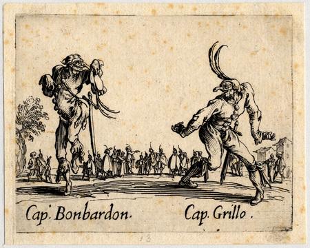 Balli di Sfessania : Capitaine Bonbardon, Grillo