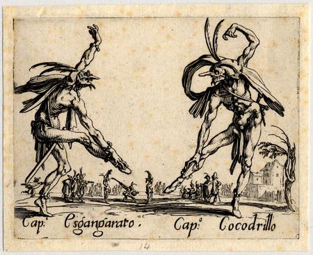 Balli di Sfessania : Capitaine Esgangarato, Cocodrillo