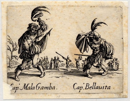 Balli di Sfessania : Capitaine Mala Gamba, Bellavita