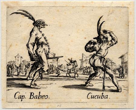 Balli di Sfessania : Capitaine Babeo, Cucuba