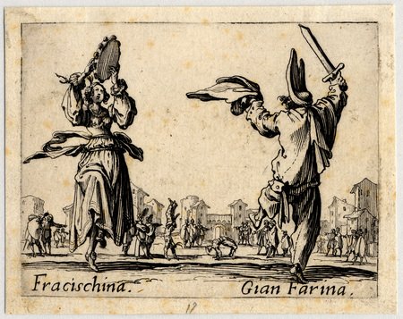 Balli di Sfessania : Fracischina, Gian Farina