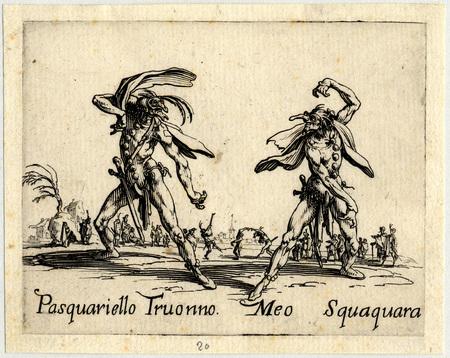 Balli di Sfessania : Pasquariello Truonno, Meo Squaquara
