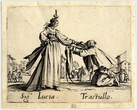 Balli di Sfessania : Signora Lucia, Trastullo