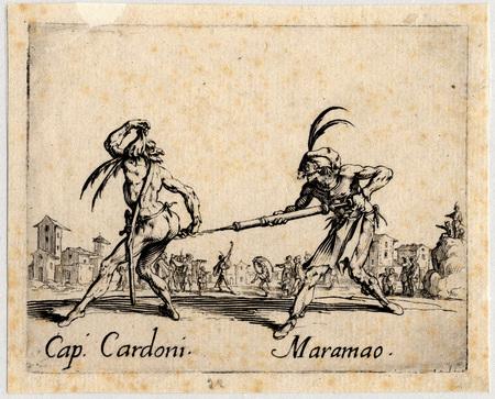 Balli di Sfessania : Capitaine Cardoni, Maramao