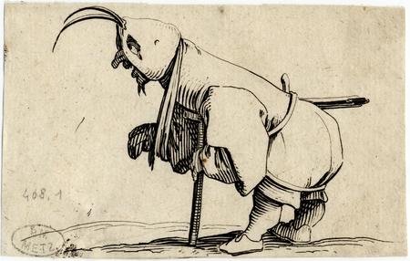 Les Gobbi: L'estropié au capuchon