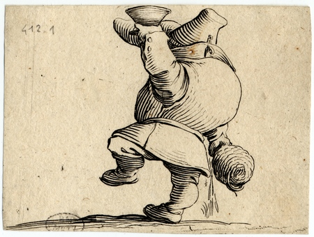 Les Gobbi: Le buveur vu de dos