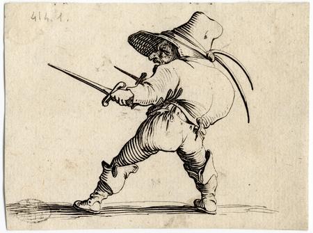Les Gobbi: Le duelliste à l'épée et au poignard
