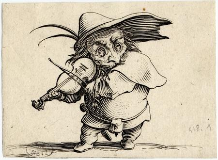 Les Gobbi: Le joueur de violon